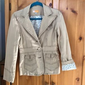 Tulle blazer jacket small
